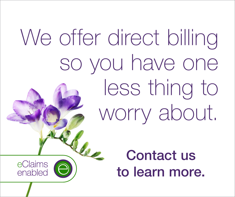 eClaims Direct billing